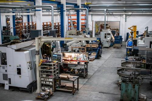 Pinhold metal working produktion